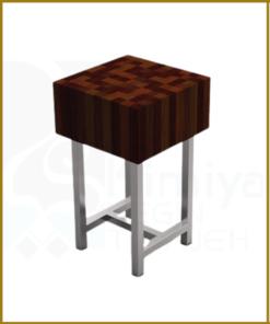 تخته ساطور رویی چوبی 808