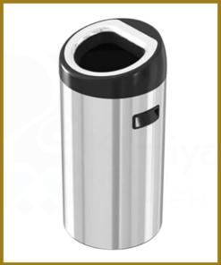 سطل زباله استیل شوت بین 30 لیتری
