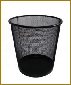 سطل زباله فلزی توری گرد – سطل زباله توری زیر میز اداری