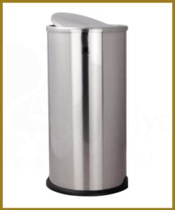 سطل زباله اداری با درب گردشی 360 درجه آکاالکتریک