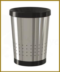سطل زباله اداری زیر میز استیل