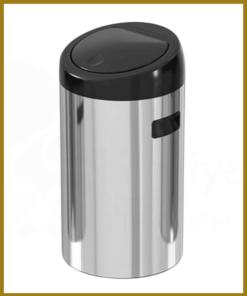 سطل زباله استیل تاچ بین 20 لیتری