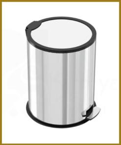 سطل زباله پدال دار 3 لیتری استیل