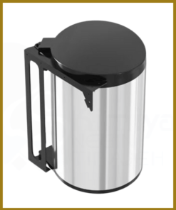 سطل زباله کابینتی استیل توکار کابینت